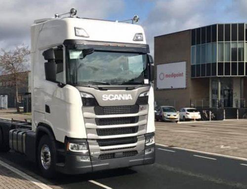 2 nieuwe Scania S450 bakwagens