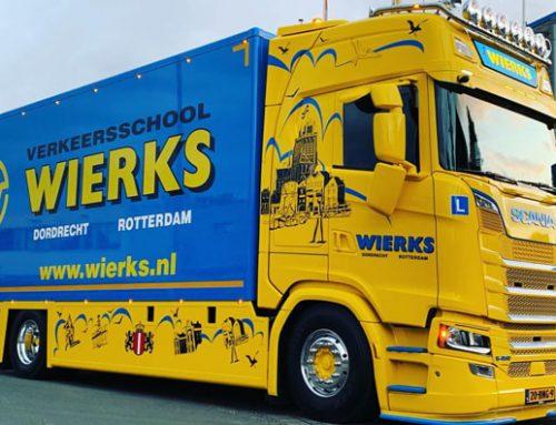 1e nieuwe Scania bakwagen in gebruik genomen