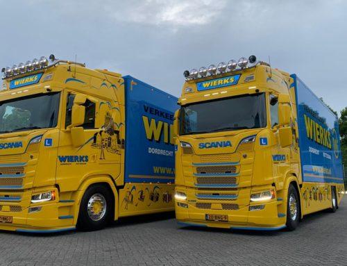 De 2e Scania in gebruik genomen
